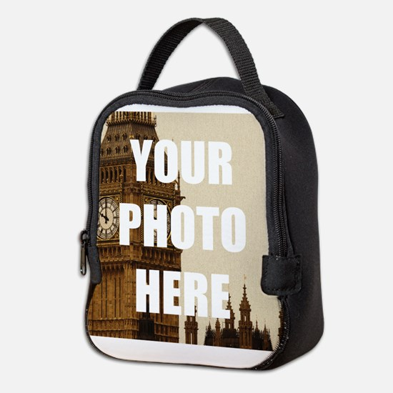 Your Photo Here Personalize It! Neoprene Lunch Bag