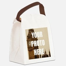 Your Photo Here Personalize It! Canvas Lunch Bag