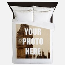 Your Photo Here Personalize It! Queen Duvet