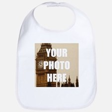 Your Photo Here Personalize It! Bib