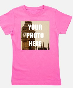 Your Photo Here Personalize It! Girl's Tee