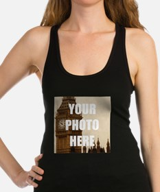 Your Photo Here Personalize It! Racerback Tank Top