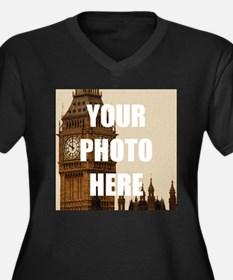Your Photo Here Personalize It! Plus Size T-Shirt