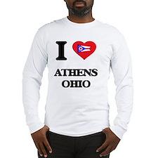 I love Athens Ohio Long Sleeve T-Shirt