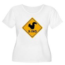Squirrel X-ing T-Shirt