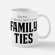 Shhh... I'm Binge Watching Family Ties Mug