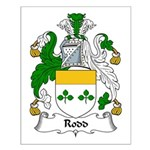 Rodd Family Crest Small Poster