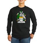 Rodd Family Crest Long Sleeve Dark T-Shirt