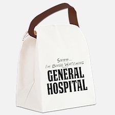 Shhh... I'm Binge Watching General Hospital Canvas