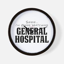 Shhh... I'm Binge Watching General Hospital Wall C