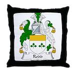 Rodd Family Crest Throw Pillow