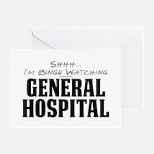 Shhh... I'm Binge Watching General Hospital Greeti