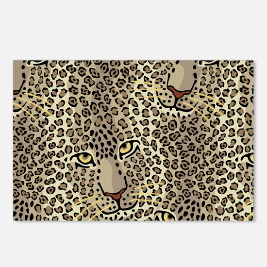 Wild Cats Postcards (Package of 8)