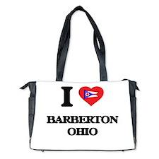 I love Barberton Ohio Diaper Bag