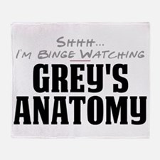 Shhh... I'm Binge Watching Grey's Anatomy Stadium