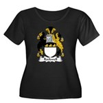 Rockwell Family Crest Women's Plus Size Scoop Neck