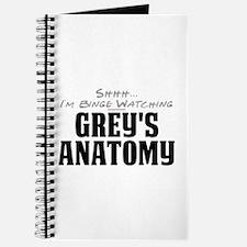 Shhh... I'm Binge Watching Grey's Anatomy Journal