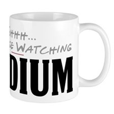 Shhh... I'm Binge Watching Medium Mug