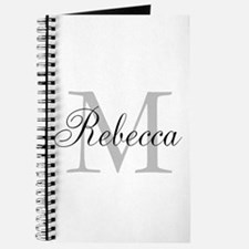 Monogram Initial And Name Personalize It! Journal