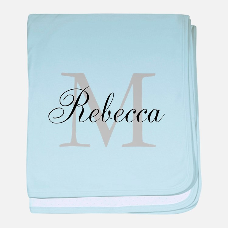Monogram Initial And Name Personalize It! baby bla