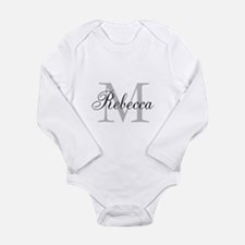 Monogram Initial And Name Personalize It! Body Sui