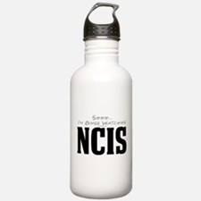 Shhh... I'm Binge Watching NCIS Water Bottle