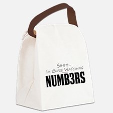 Shhh... I'm Binge Watching Numb3rs Canvas Lunch Ba