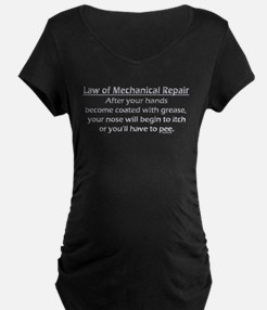 MechanicalRepair 10x10 DARK.png Maternity T-Shirt
