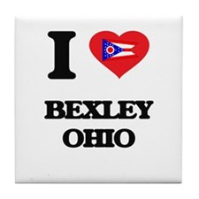 I love Bexley Ohio Tile Coaster