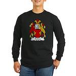 Robins Family Crest Long Sleeve Dark T-Shirt