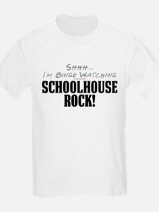 Shhh... I'm Binge Watching Schoolhouse Rock! T-Shirt