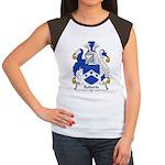 Roberts Family Crest Women's Cap Sleeve T-Shirt