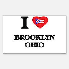 I love Brooklyn Ohio Decal