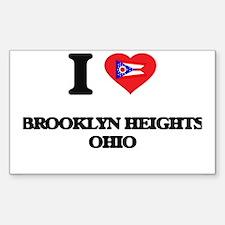 I love Brooklyn Heights Ohio Decal