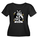 Robbins Family Crest Women's Plus Size Scoop Neck