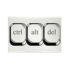 Ctrl Alt Del Rectangle Magnet