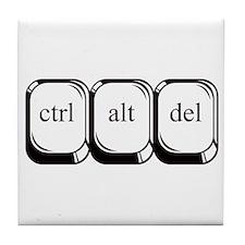 Ctrl Alt Del Tile Coaster