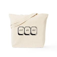 Ctrl Alt Del Tote Bag