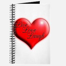 Live Love Laugh by Xennifer Journal