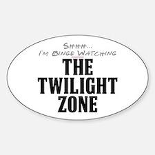 Shhh... I'm Binge Watching The Twilight Zone Oval
