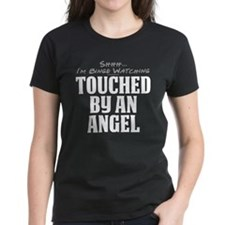 Shhh... I'm Binge Watching Touched by an Angel Wom