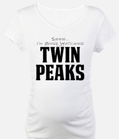 Shhh... I'm Binge Watching Twin Peaks Shirt