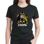 Risebrow Family Crest Women's Dark T-Shirt