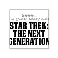 Shhh... I'm Binge Watching Star Trek: The Next Gen
