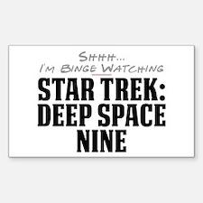 Shhh... I'm Binge Watching Star Trek: Deep Space N