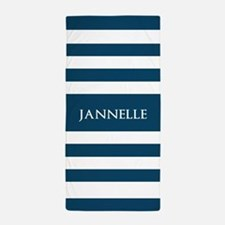 Stripes bathroom accessories decor cafepress for Blue and white striped bathroom accessories