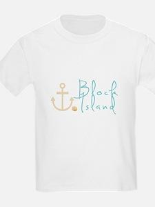 Block Island Script T-Shirt