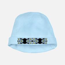 90s vintage floral baby hat