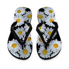 90s vintage floral Flip Flops