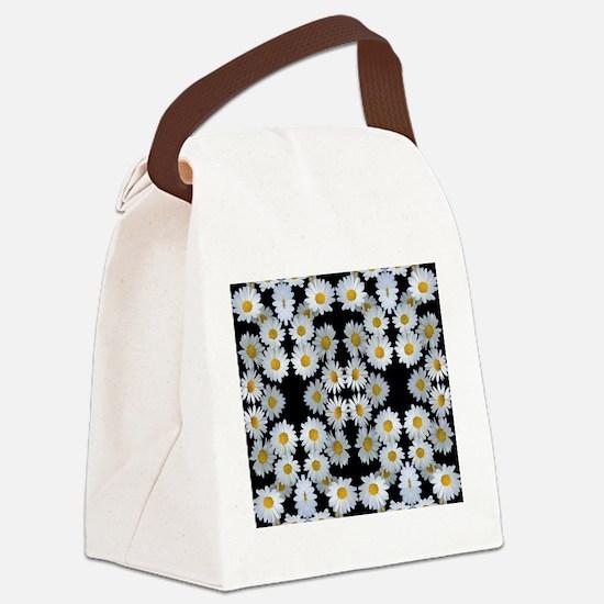 90s vintage floral Canvas Lunch Bag